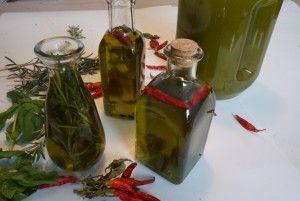 aceites especiados caseros